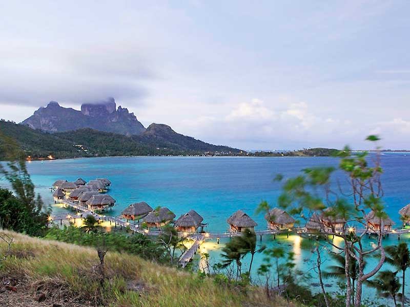 Sofitel Bora Bora Evening View